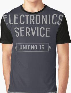 Electronics Service Unit No. 16 Graphic T-Shirt