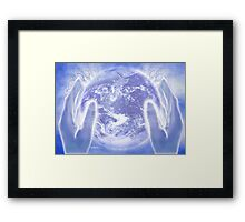 Heal the Earth Framed Print