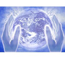 Heal the Earth Photographic Print