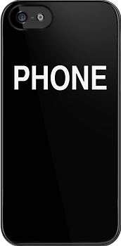 Phone (black) by ubiquitoid