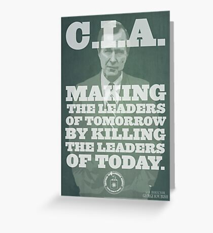 C.I.A. Leaders of Tomorrow Greeting Card