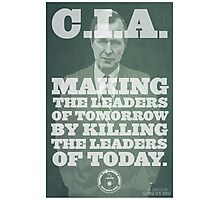 C.I.A. Leaders of Tomorrow Photographic Print