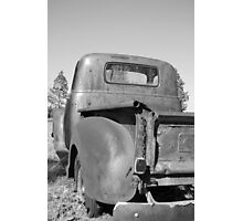 Rusty old Chevy Photographic Print