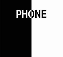 Phone (black & white) by ubiquitoid
