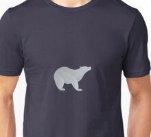 Minimalist Polar Bear Unisex T-Shirt