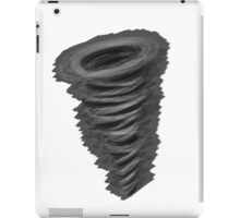 charcoal cyclone iPad Case/Skin