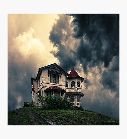 Storm on the horizon Photographic Print