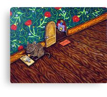 The Cheese Thief  Canvas Print