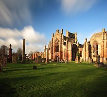 Melrose Abbey by Grant Glendinning