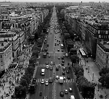 France - Paris - Champs Elysées by HollieJade