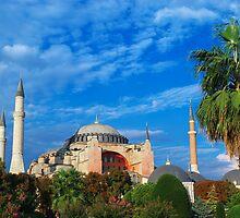 Haghia Sofia in Istanbul, Turkey by Ivo Velinov