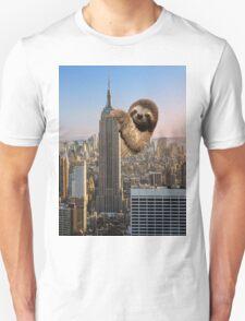 The Empire Sloth Building Unisex T-Shirt