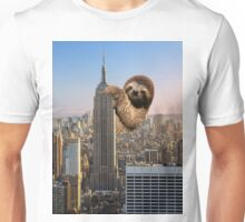 The Empire Sloth Building Unisex T-Shirt