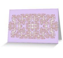 Baroque Pattern 2 Greeting Card