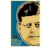 JFK CIA Photographic Print