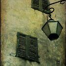 Valbonne shutters by Sonia de Macedo-Stewart