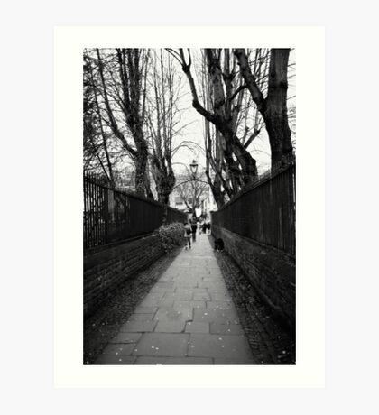 Bristol Walk Way Art Print