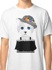 The Staring Cat & The Straw Hat Classic T-Shirt