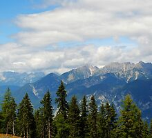 Mountains in Austria by HollieJade