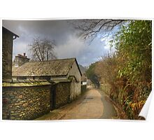 A Village Lane..The Other View Poster