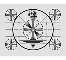 Indian Head Test Pattern Photographic Print