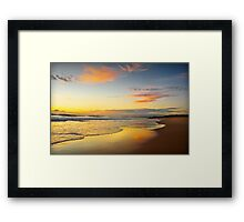 Beach Dawn Framed Print