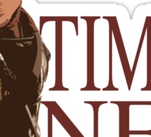 Time's New Roman Sticker