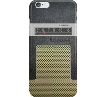 Transistor Radio - 60's Galaxy Model iPhone Case/Skin