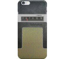 Transistor Radio - 60's Galaxy Model iPhone Case/Skin