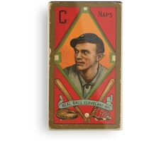 Benjamin K Edwards Collection Neal Ball Cleveland Naps baseball card portrait 001 Metal Print