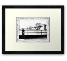 1911 or 2011?  The Forth Rail Bridge Framed Print