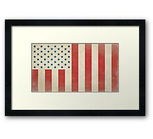 American Civilian Flag of Peace Framed Print