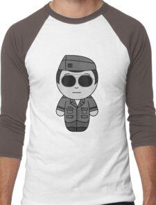 George (They Hide Among Us!) - Black Box Films: BOXIES Men's Baseball ¾ T-Shirt