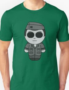 George (They Hide Among Us!) - Black Box Films: BOXIES Unisex T-Shirt