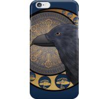 Art Nouveau Hogwarts Houses - Ravenclaw iPhone Case/Skin