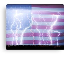 America the Powerful Canvas Print