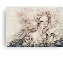 Titania's Daughter II Canvas Print