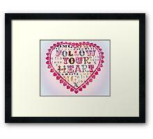 Your Heart Framed Print