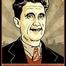 George Orwell by LibertyManiacs