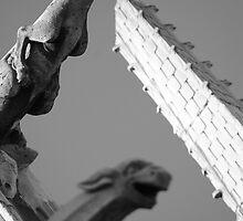 Notre Dame Gargoyles by Ray King