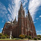 Cathedral of the city of La Plata. by fotovivencias