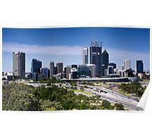 Perth City Poster