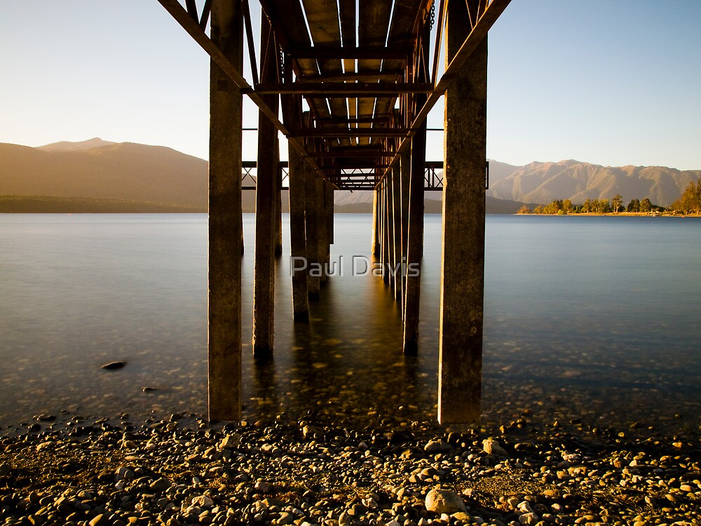 Te Anau - The Deep Lake - Series by Paul Davis