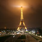 Paris at Night by honestyS2