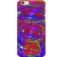 Falling Circles iPhone Case/Skin