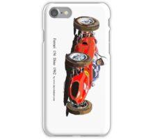 Ferrari Dino 156 1962  iPhone Case/Skin