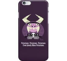 Everybody likes Potatoes. iPhone Case/Skin
