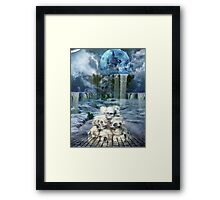 THANATOS' KNELL Framed Print