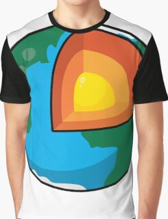Center of the Earth Graphic T-Shirt