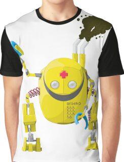 The Big Yellow Bot Graphic T-Shirt